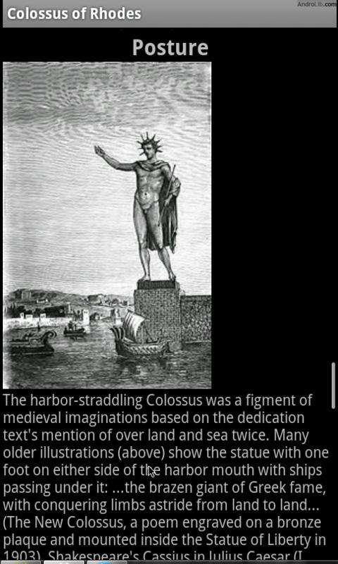 colossus of rhodes essay