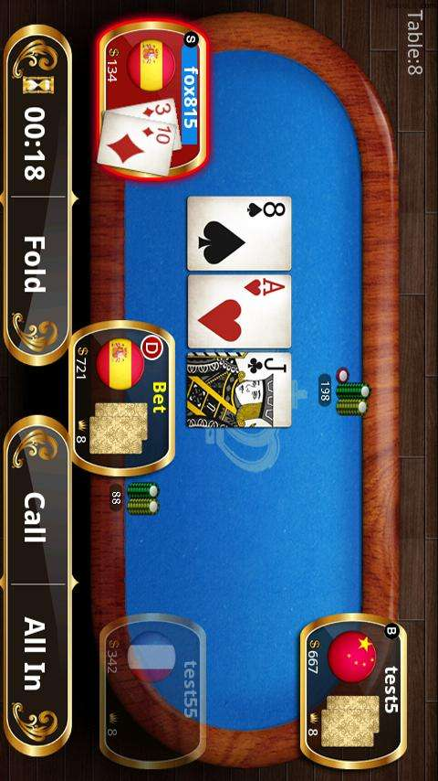 Texas holdem poker king